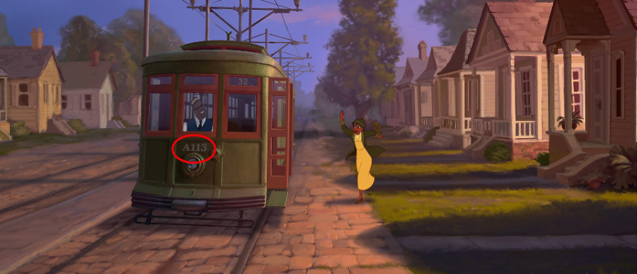 A113 in Princess and the frog