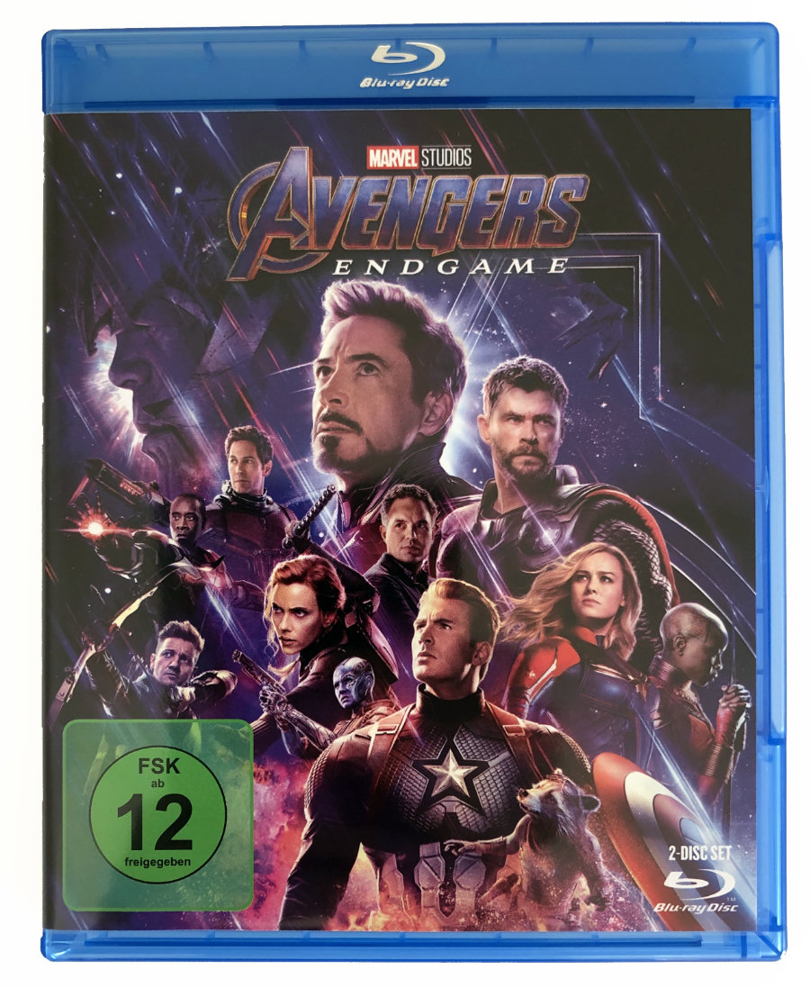 Blu-ray Cover Avengers Endgame